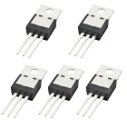MC7805CT 3-Terminal Positive Regulators / Triodes - Black (5 PCS)