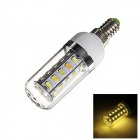 E14 5W 250lm 3500K 36-SMD 5730 LED Warm White Light Lamp Bulb (AC 220V)