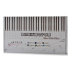 Portable Hand Roll 61-Key Piano w/ 128 Tones / 100 Rhythms / 80 Demos