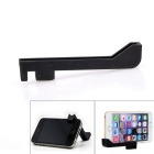 EOSCN Silicone Phone Tripod Mount Holder & Desktop Stand for IPHONE 6 / 6 PLUS - Black