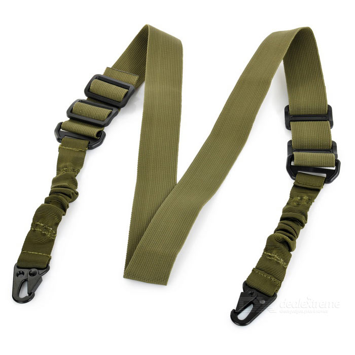Multifunction Nylon Buckle Cord / Belt for Gun - Army Green (150cm)