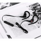 Cwxuan Bluetooth V4.0 Ear-Hook Sports Headphone Headset w/ Mic - Black