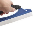 Car Wash Silicone Wiper Cleaning Tool - Blue + White