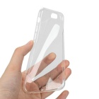 Mini smile 5mm TPU trasero caso para IPHONE 6 - transparente