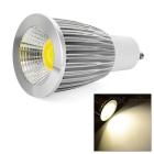 GU10 8W 350lm White & Warm White Color Temperature Adjustable COB LED Spotlight (AC 85~265V)