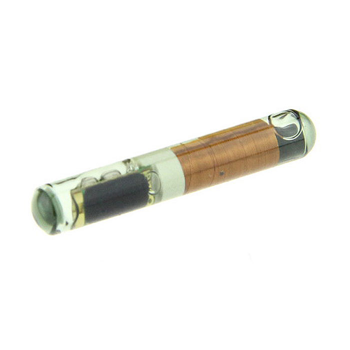 ID4C TX00 (T3) Glass Transponder Chip - Bronze + Black