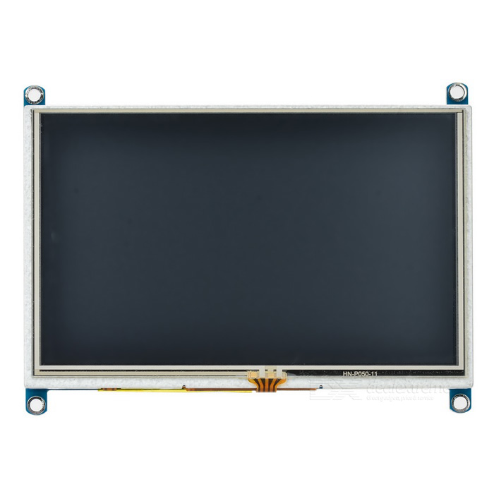 "Waveshare 5"" LCD Monitor Display Module w/ HDMI for Raspberry Pi"