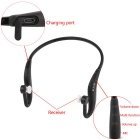 RUITAI back-hang sports mains libres BT V4.1 casque w / mic - noir