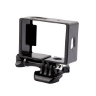 PANNOVO Professional Camera Protective Side Frame Case w/ Mount for XIAOMI XIAOYI - Black