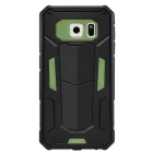 NILLKIN Stronger Series TPU + PC Back Cover Case for Samsung Galaxy S6 / G920F - Green + Black