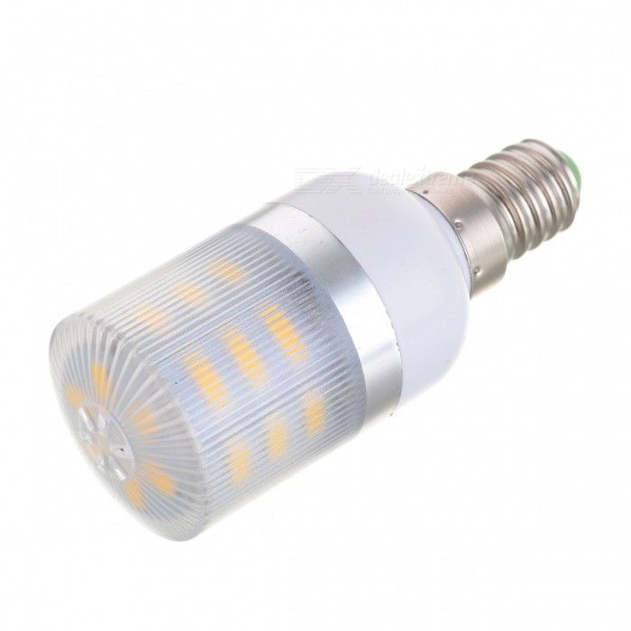 E14 6W 24-LED Light Stripe Warm White 3000K 600lm 5630 SMD (220~240V)