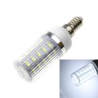 E14 Stripe 9W 36-LED Corn Light Bluish White 900lm 5630 SMD (220~240V)
