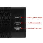 RUITAI USB Bluetooth CSR 2.1+EDR Bass Speaker w/ 3.5mm, Mic - Black