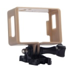 Border Protective Frame + Long Screw + Buckle Mount Set for SJ4000 Sports Camera - Black + Golden