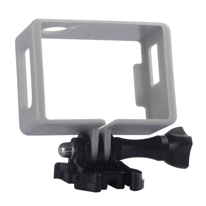 Border Frame, Long Screw, Buckle Mount Set for SJ4000, SJCAM - Silver