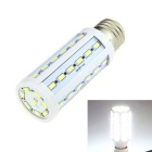 E27 10W LED Corn Light Cool White 7500K 1000lm 44-SMD 5630 - White (AC 220V)