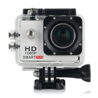 "Smartron 1.5"" TFT 170 Degree FHD 1080p Waterproof Action Sport Digital Video Camera - White + Black"