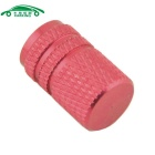 CARKING Car Tire Tread Valve Core Caps - Red (4PCS)