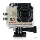 "Smartron 1.5"" TFT 170 Degree FHD 1080p Waterproof Action Sport Digital Video Camera - Golden"