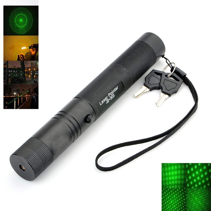 Marsing 303 Starry Sky Green Laser Pointer Flashlight - Black