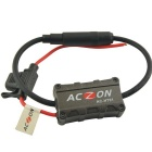 Vehicles Car Radio FM Antenna Signal Amplifier Booster - Black