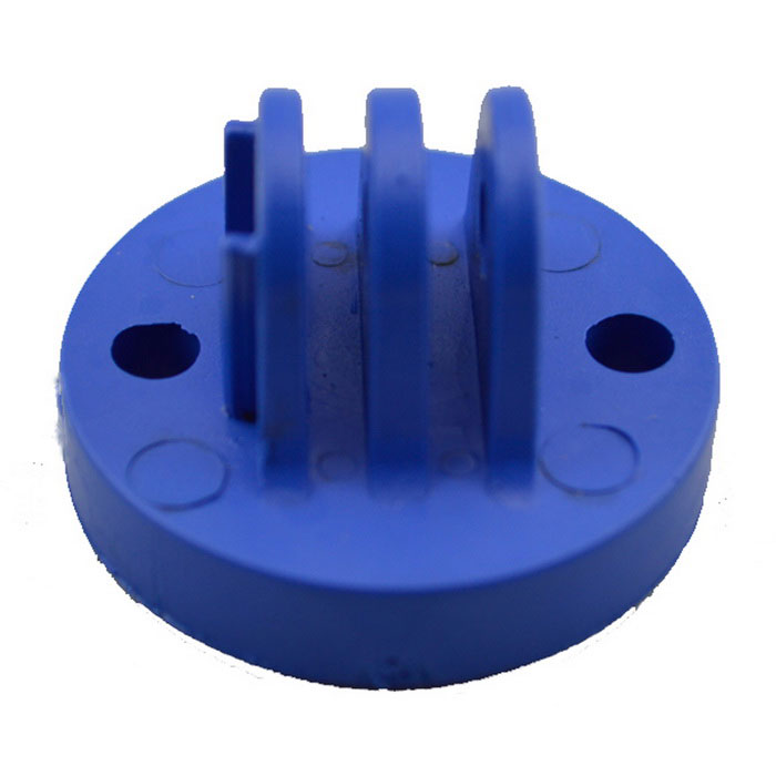 Sports Camera Plastic Connecting Holder for GoPro Hero 2/3/3+/4 / SJ4000 / SJ5000 / Xiaoyi - Blue