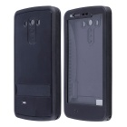 Redpepper Case Waterproof Plastic Case w/ Stand for LG G3 - Black