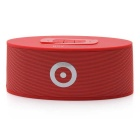 MOWTO B-08 Mini Wireless Stereo Bluetooth V3.0 Speaker Handsfree Box w/ Mic - Red