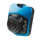 "1/2.7"" CMOS 5MP 140 Degree 1080P Mini Car Video Recorder DVR w/ IR Night Vision - Blue"