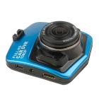 "1/2.7"" CMOS 5MP 140 Degree 1080P Car Video Recorder DVR - Blue"