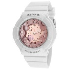 Genuine Casio Baby-G Ladies Watch BGA-131-7B2DR (World time 29 time zones) - Pink White