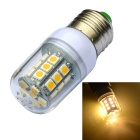 JIAWEN E27 3W LED Corn Lamp Bulb Warm White 350lm 27-SMD 5050 - White