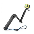 Multi-function Waterproof Monopod Tripod Mount for GoPro Hero 4 / 3+ / 3 / 2 / Xiaoyi - Black