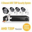 JOOAN 4-CH AHD Digital Video Recorder w/ Outdoor 720P CCTV Camera Home Security System