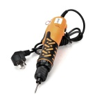 LODESTAR L104220 3-Flat-Pin Plug Phillips Screwdriver w/ Bits - Orange + Black