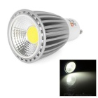 LeXing Lighting GU10 8W COB LED Spotlight White Light 540lm 6500K - White (AC 85~265V)