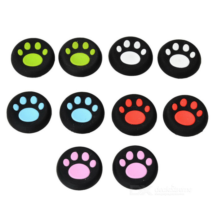 Little Feet Style Rocker Cap for PS3 + More - Multicolored (10PCS)
