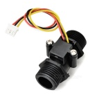 YF-S201C Nylon + POM Water Flow / Hall Sensor - Black (DC 5~15V)