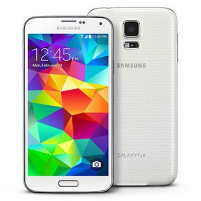 Samsung  Galaxy S5 G900F 4G 16GB ROM Android Smartphone-White