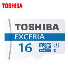 Genuine Toshiba Extreme 16GB U1 CLASS 10 Micro SD / TF Memory Card