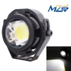 MZ 10W COB LED Hexagon Eagle Eyes Car Fog Lamp White Light 500lm 6500K - Black (12~24V)