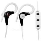 Cwxuan Sports Bluetooth v4.0 Stereo Ear-Hook Headset w/ Voice Prompt - White