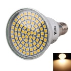 WaLangTing E14 4W Spotlight Warm White Light LED 3200K 320lm SMD 2835 - Silver (AC 220 ~ 240V)