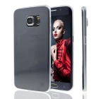 MO.MAT TPU Clear Back Case Cover for Samsung Galaxy S6 Edge - Transparent