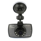 "FHD 1080P 140 Degree Wide Angle Car DVR Car Camera Recorder w/ 2.7"", G-sensor, IR Night Vision"