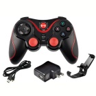 MAIKOU S601 Wireless USB Smart Bluetooth Game Controller - Black + Red