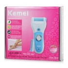 KEMEI Rechargeable Electric Foot Care Feet Dead Skin Remover - Blue