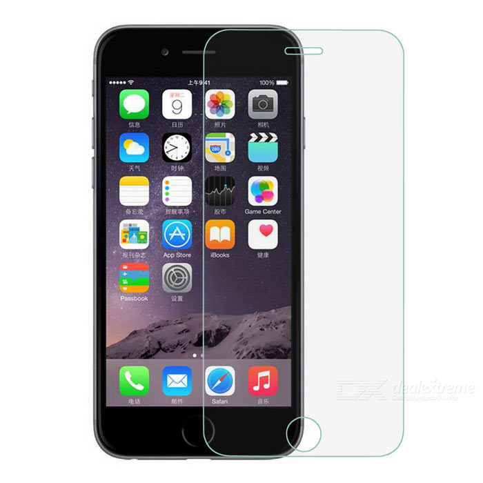 Clear Tempered Glass Full Screen Film for IPHONE6 - Transparent (2PCS)