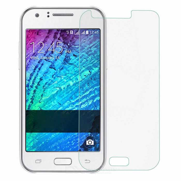 PUDINI 0.3mm Tempered Glass Film for Samsung Galaxy J - Transparent
