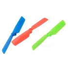 Replacement Blade Accessories Set for WLtoys V931 - Red + Green + Blue